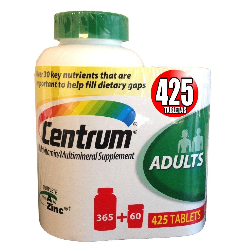 Vitamina centrum para que sirve – Dietas de nutricion y