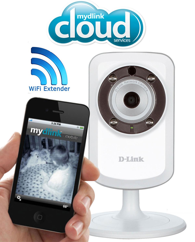Camara de vigilacia ip wifi d link dcs 932l icloud for Camara vigilancia autonoma