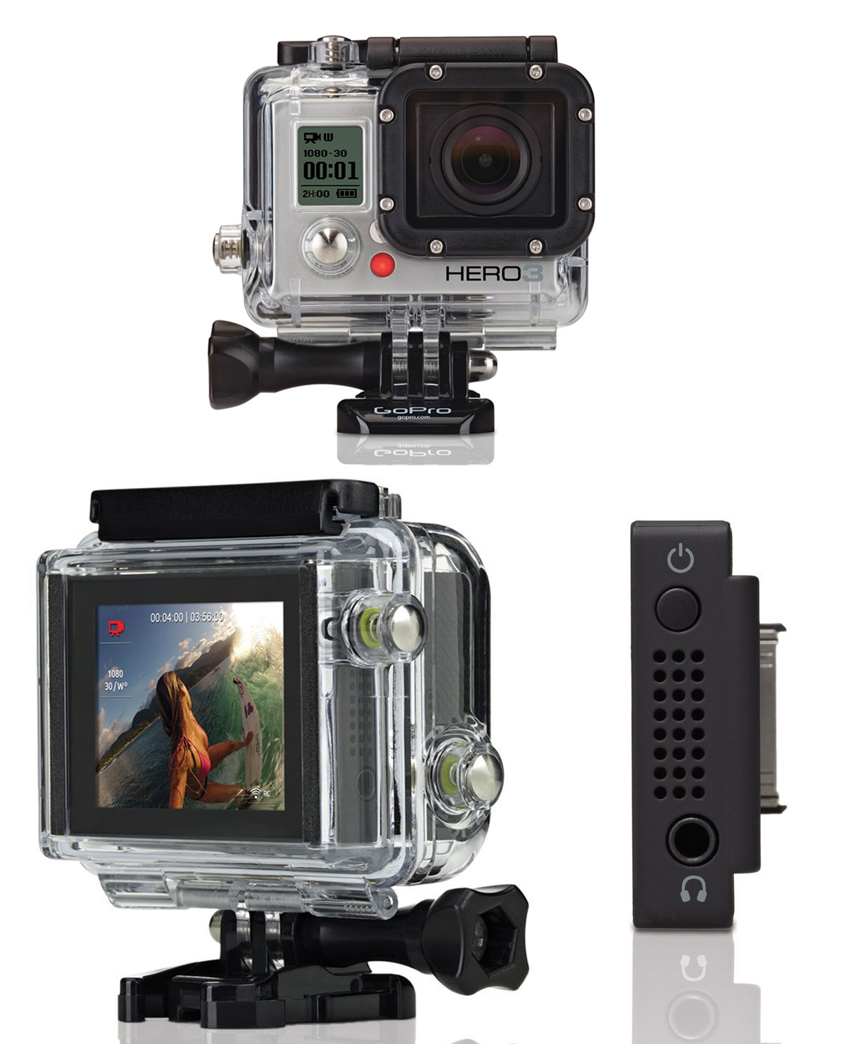 lcd touch bacpac pantalla tactil camara gopro hero 3 y 3. Black Bedroom Furniture Sets. Home Design Ideas