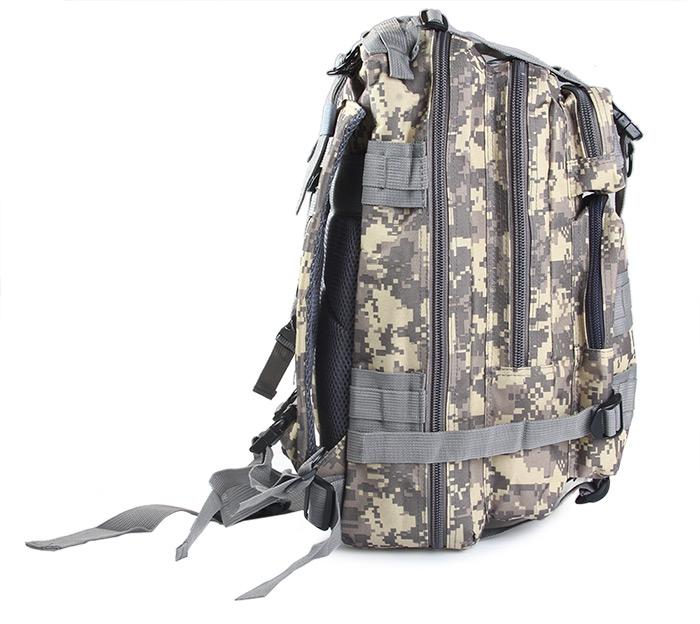 8188f040e Morral Maleta Militar Campaña Asalto Viaje Camping Camuflado - Importaciones  West