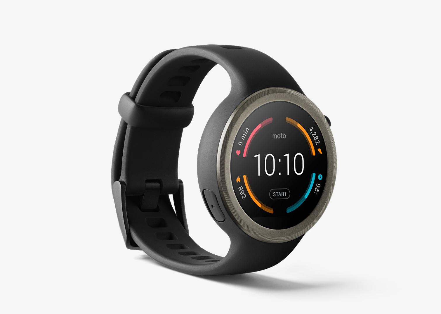 Motorola Moto 360 Sport Smartwatch 45mm Gps negro ...